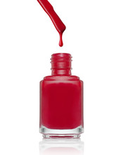 Nail Polish Bottle With Drop