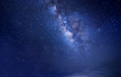 Long expose night sky photograph. content noise, grains, blur, and soft focus due to long expose and high iso.