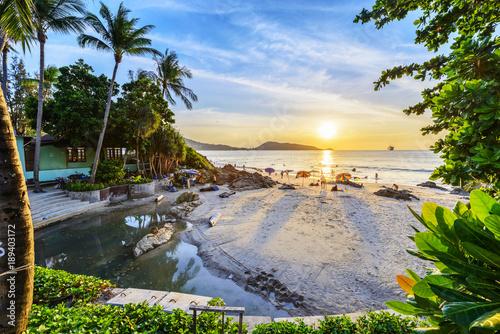Valokuvatapetti Landscape of Phuket. Located in Patong Beach, Phuket, Thailand.