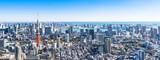 東京 都市風景 ワイド