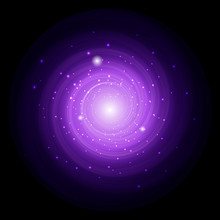 Spiral Background. Space Conce...