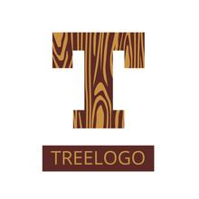 Logo Letter T, Wood Furniture....