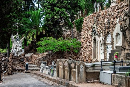 Keuken foto achterwand Begraafplaats Cementerio