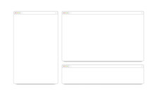 Blank White Responsive Browser...