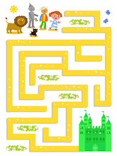 Wizard Of OZ Labyrinth Help Do...