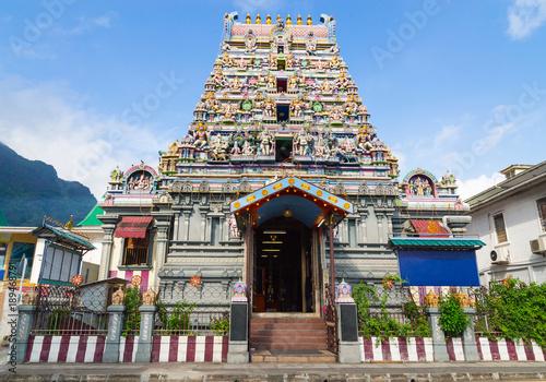Obraz na plátně Arul Mihu Navasakthi Vinayagar Tempel Victoria Mahe Seychellen
