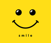Smile Icon Logo Template Desig...