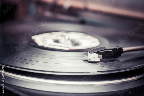 Vinyl Record And Money Canvas Print