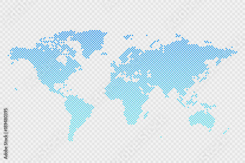 Vector world map infographic symbol on transparent background vector world map infographic symbol on transparent background international rhombus illustration sign blue gradient gumiabroncs Choice Image
