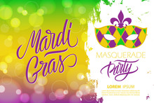 Mardi Gras Masquerade Party Ba...