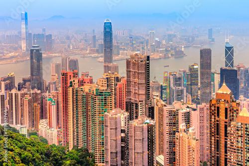 Türaufkleber Hongkong Hong Kong.