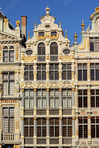 Bruxelles, Grand-Place. Façade. Le Sac