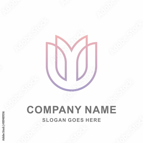 Clover Flowers Cosmetic Aromatherapy Fashion Beauty Skincare Business Company Stock Vector Logo Design Template Buy This Stock Vector And Explore Similar Vectors At Adobe Stock Adobe Stock