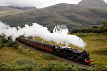 Steam Locomotive Of Scotland