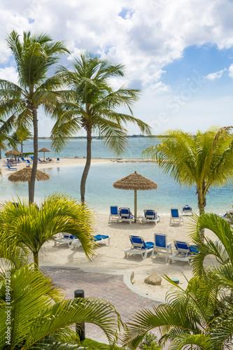Aruba island, Caribbean sea Canvas Print