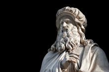 Leonardo Da Vinci Statue, By L...