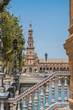 Plaza de España Sevilla in Spain