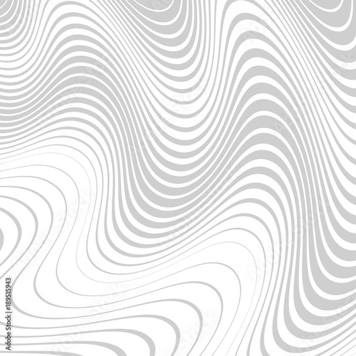 Fotografie, Obraz  Abstract background with distorted lines
