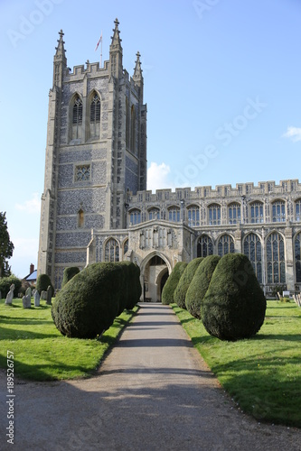 Photo Holy Trinity Church of England in Long Melford, Suffolk