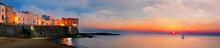 Panoramic Sunset View Of Galli...