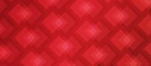 Red Modern Pattern Banner