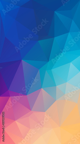 Vertical Flat polygonal Background for your smartphone.