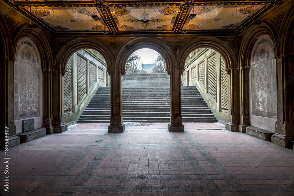 Fototapety, obrazy: Bethesda Terrace and Tunnel
