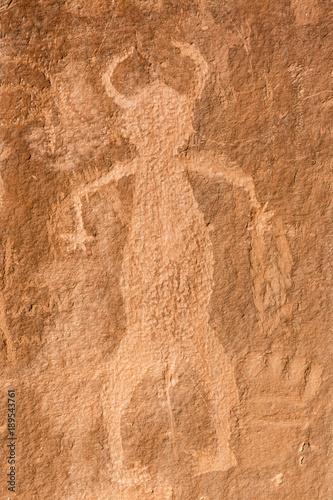 Phallic Pretroglyph Slika na platnu