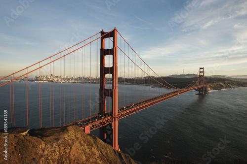 Golden Gate Bridge, San Francisco, California, USA. Poster