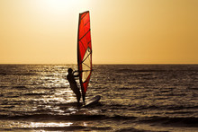 Brighton Beach Windsurfer