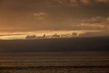 Sunset Clouds Over Catalina Island