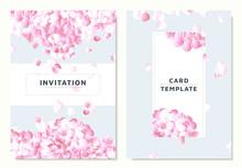 Pink Hydrangea, Petals Droppin...