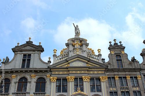 Bruxelles, Grand-Place. Façades.