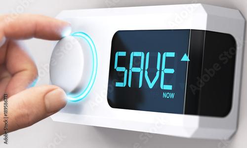 Fotografía  Saving Money; Decrease Energy Consumption