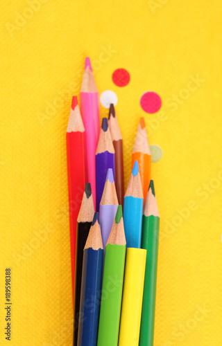 Fotografia  matite di tutti i colori