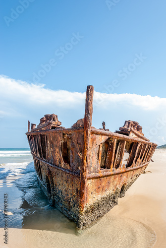 Poster Naufrage Maheno Shipwreck Fraser Island