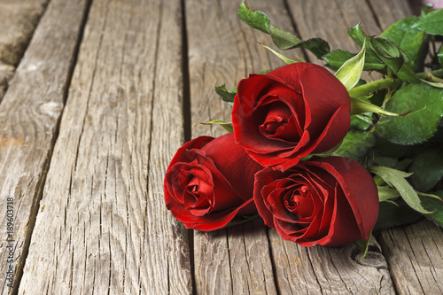 Valentines Day At Trader Rose >> Red Roses On Old Wooden Table Valentine S Day Background Buy This