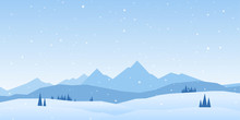 Vector Illustration: Winter Mo...
