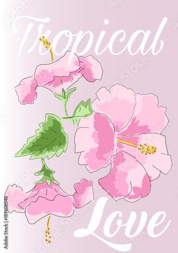 romantyczna-ilustracja-slogan-wektor