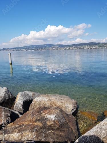 Spoed Foto op Canvas Noordzee Lake of Zurich