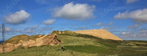 Fotografía High sand dune Rubjerg Knude, travel destination in Denmark