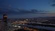 overlooking vienna city illuminated at night leopoldstadt district
