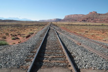 Railway Section In Colorado, U...