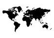 Weltkarte Vektor Kontinent