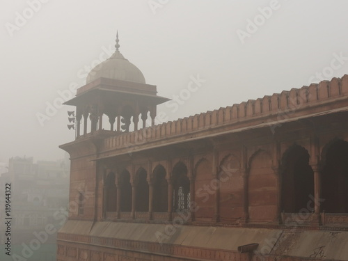 In de dag Delhi Mosquée Juma Masjid