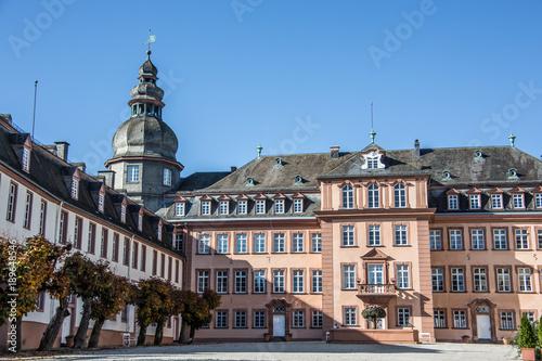 Spoed Foto op Canvas Theater Siegen-Wittgenstein Schloss in Bad Berleburg