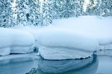 Non Freezing Stream In Winter ...