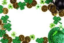 St Patricks Day Frame Isolated...