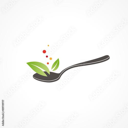 alimentation saine, bio concept Canvas Print