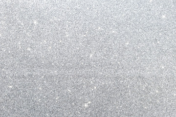 Abstract silver glitter texture background, festive season concept background